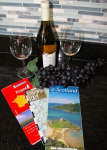 Wine and maps